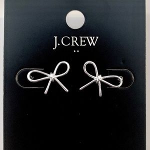 J. Crew Bow Earrings NWT